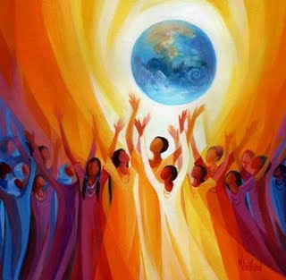 Women Singing Earth by Mary Southard, CSJ