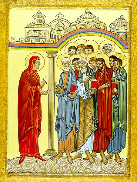 mary tells the disciples