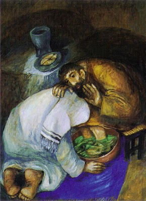 Washing of Feet by Sieger Köder