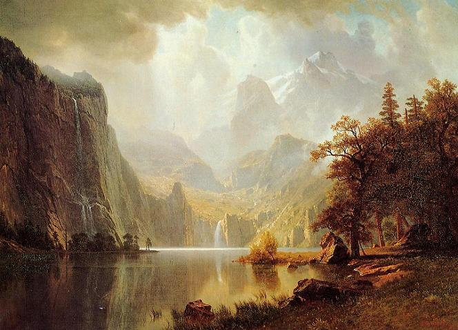 Mountains Albert Bierstadt
