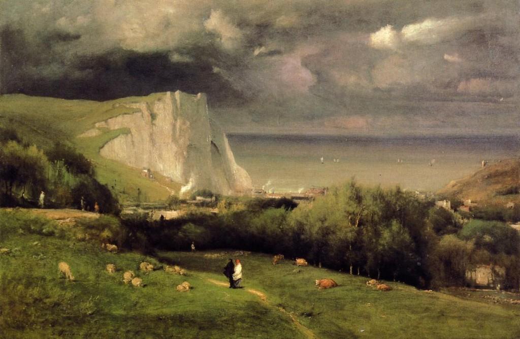 Etretat_George_Inness_1875