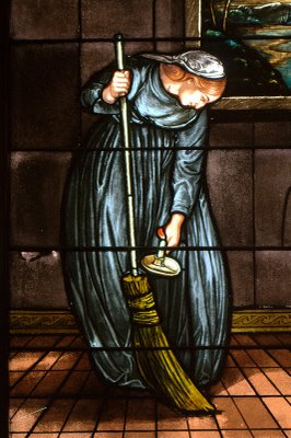 woman-sweeping