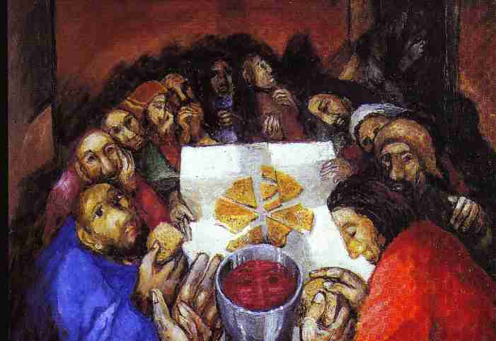 Last Supper by Sieger Koder