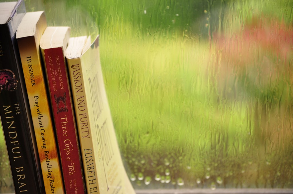 More good books for a rainy day.