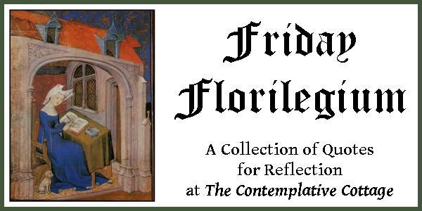 Friday Florilegium 1